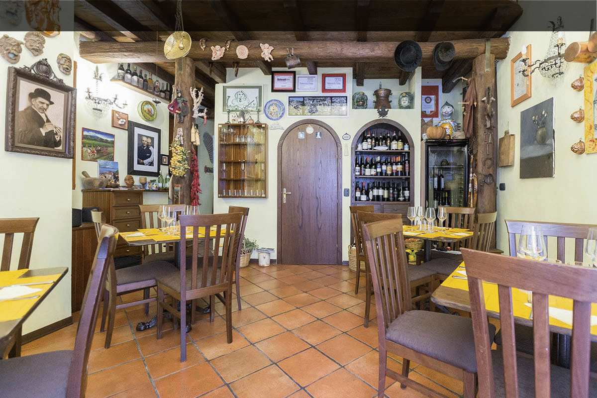 Trattoria tipica siciliana for All origine arredi autentici